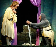 Herbert and Lancelot...find your male - Spamalot