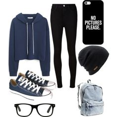 http://mkthlth1DE.digimkts.com  This is more than just a diet Its a way of life  diet  Casual yet cute outfit for fall. by liyaalston on Polyvore featuring MANGO, AG Adriano Goldschmied, Converse, H&M, Casetify and Coal