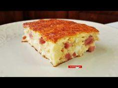 Ζαμπονοτυρόπιτα σουφλέ στο λεπτό!!! - YouTube Ham And Cheese, Lasagna, Quiche, Breakfast, Ethnic Recipes, Youtube, Greek, Food, Collection