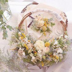 Flower Crown, Dried Flowers, Flower Arrangements, Floral Wreath, Marriage, Wreaths, Ohana, Bridal, Rose