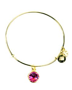 Alex and Ani October Rose Birthstone Bracelet..beautiful gift to remember you