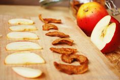 Dehydrating apples Dehydrated Apples, Camembert Cheese, Dairy, Food, Eten, Meals, Diet