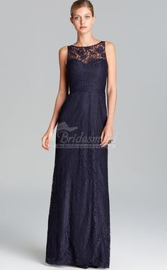 Elegant Navy Blue Lace Bateau Neck Long Maid of honor Dress Navy Blue Bridesmaids, Wedding Bridesmaid Dresses, Wedding Attire, Wedding Outfits, Modest Dresses, Prom Dresses, Bride Dresses, Wedding Wows, Wedding Ideas