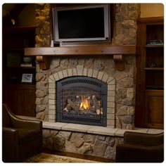 fireplace xtrordinair | Traditional / Gas Fireplace Xtrordinair / FPX 864 High Output