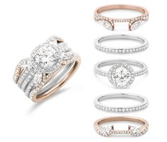 #stackable #Laurence #lxanterp #unique #fashion#engagement #engagementring #ring #jewelry #diamond #diamonds #colorado #coloradosprings #luisagraff #luisagraffjewelers
