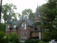 House in Irvington / Indianapolis, IN.   Lived within walking distance of this gorgeous home