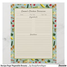 Chicken Fricassee, Good Foods To Eat, Oysters, Envelope, Vegetables, Prints, Recipes, Envelopes, Recipies