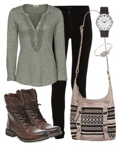 """""""Leprechaun"""" by deliag ❤ liked on Polyvore featuring VILA, Dylan, Steve Madden, maurices, Topshop and Dogeared"""