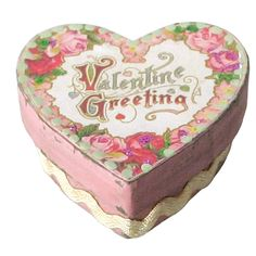 Vintage Small Heart Boxes, Set of 6  $18.00 http://www.fancyflours.com/product/Vintage-Small-Heart-Boxes/valentines-party-theme