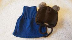Neulottu kauluri ja pipo lapselle Knitted Hats, Knit Crochet, Winter Hats, Knitting, Crocheting, Kids, Baby, Fashion, Crochet