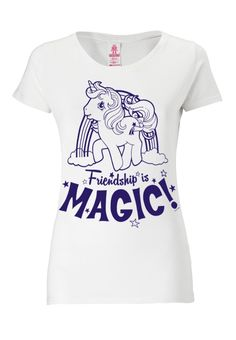 LOGOSHIRT - MY LITTLE PONY - T-Shirt print - almost white