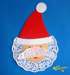 Mikołaj z serwetki
