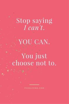 This is such a true statement. Most people makes excuses because they don't want to have to make sacrifices or put in the hard work. If you choose to make changes it will be hard but you will see the positive results. The choice is yours. Believe in yourself and change your mindset to I CAN! #quote #belief #instamood #IcanandIwill #pcos #pcosliving #wellness #hardchoices #sacrifice #strength #healthyliving #positivechanges #hardwork #noexcuses #mindset #lawofattraction #believe…