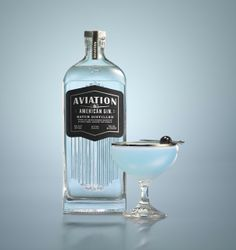 Aviation Gin,  Designed by Sandstrom Partners