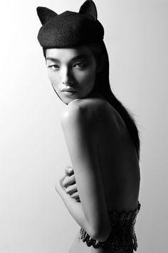 """senyahearts:  Fei Fei Sun in """"Best 5"""" for Vogue Turkey, March..."""