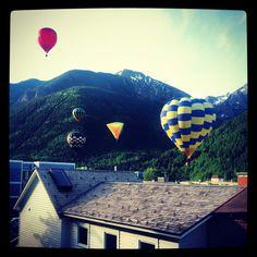 Balloon Fest in Telluride, Colorado. TellurideSkiResort.com