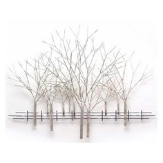 Winter Orchard Wall Sculpture ($539) ❤ liked on Polyvore featuring home, home decor, wall art, trees, art, backgrounds, fades, home decorators collection, tree sculpture and contemporary home decor
