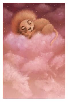 Sleeping Lion by *pesare on deviantART