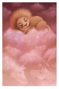 Sleeping Lion by *pesare on deviantART