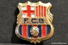 ANTIGUA INSIGNIA PIN DE AGUJA BARÇA FUTBOL CLUB BARCELONA