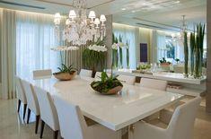 Como definir a decoração da sua Sala de Jantar em 5 passos simples. Veja as dicas da decoradora de ambientes Luna Vargas.