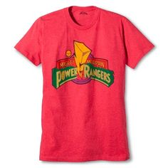Men's Power Ranger T- Shirt