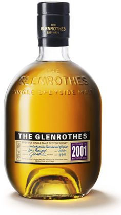 Vintage 2001 single malt whisky from Glenrothes; available from Whisky Please.