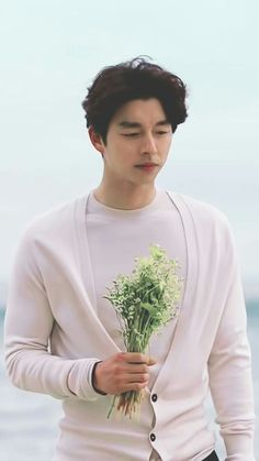 Gong yoo Goblin drama  Was never a fan of Korean Drama until I got the chance to see this #Goblin..#Buckwheat flowers #GongYoo
