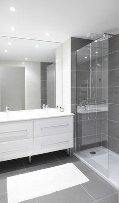 Bathroom decor for the master bathroom remodel. Discover bathroom organization, bathroom decor suggestions, master bathroom tile some ideas, master bathroom paint colors, and more. Bathroom Layout, Bathroom Storage, Bathroom Ideas, Bathroom Organization, Bathroom Cabinets, Bathroom Mirrors, Bathroom Inspiration, Bathroom Designs, Master Bathrooms