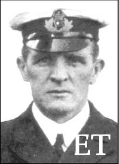 First Officer Murdoch of Titanic. He went down with the ship.