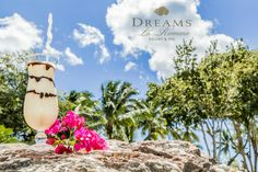 The Dirty Banana cocktail is a guest favorite at Dreams La Romana! Another beautiful looking drink to indulge in. Dreams Tulum Resort, Dreams Resorts, Resort Spa, Banana Cocktails, Orange Drinks, Vacation Club, Time To Celebrate, Staycation, Spa Day