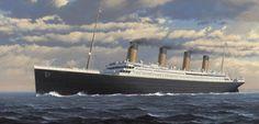 One of Ken Marschall's amazing paintings of the Titanic