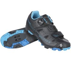 The SCOTT MTB Elite Boa(R) Lady shoe is an all-mountain choice that takes comfort to the next level.