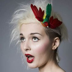 Now Voyager Flying Bird Hair ClipVibrant by nowvoyagersos on Etsy, £10.50