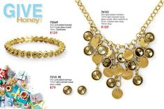 24ct Gold Plated Necklace & Bracelet -Rhodium plated with clear glass crystal perfect for Festive Shopping.