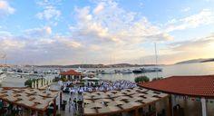 Beach or pool ceremony, wedding dinner close to the sea.  MARINA BAOTIĆ -TROGIR Wedding Dinner, Sea, Wedding Meals, The Ocean, Ocean