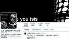 Páginas do comando militar dos EUA são hackeadas +http://brml.co/1BZBwYF