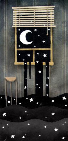 Cuidado las estrellas se están filtrando por las ventanas de nuestros ojos.