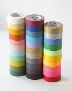 A stack of washi tape!