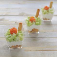 Coconut Peach Lemonade Slushies - The Kitchen McCabe Appetizer Recipes, Appetizers, Slushie Recipe, Peach Lemonade, Tiny Food, Slushies, Salmon Recipes, Yummy Drinks, Finger Foods
