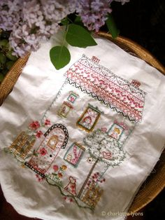 Charlotte Lyons is such a lovely person as well as being a great designer. this is her barney park stitching sampler. $10.00, via Etsy©