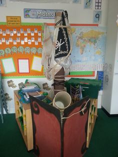 Classroom Pirate Ship for role play - Year 1.