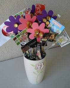 Gift card bouquet from my kids clever gifts ideas gift card bouquet 2 negle Choice Image