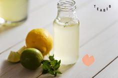 Tee sitä tee tätä: HOW TO // Teelimonaadi // Tea lemonade Tea Recipes, Lemonade, Glass Of Milk, Cantaloupe, Things To Do, Fruit, Drinks, Tees, Blog