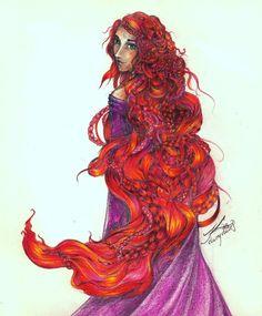 Lady Fire- Fire by Kristin Cashore