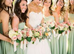 Elegant Wedding in Sage, Blush, and Cream