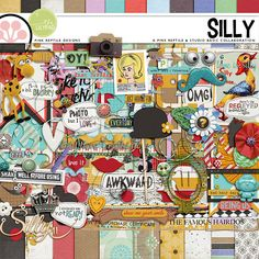 Silly | Collab by Pink Reptile Designs and Studio Basic! 50% OFF TODAY ONLY, JUNE 24th until 11:59 PM EST!  Grab this awesome kit while it is on sale!! #sosn #pinkreptiledesigns