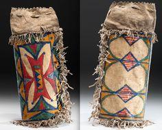 Sioux parfleche case.  Cowan Auct. 2015