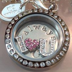 Tell her how much you Love her by giving her a Origami Owl Locket. Tell your story with an Origami Owl living locket Origami Owl Bracelet, Origami Necklace, Origami Owl Lockets, Origami Owl Jewelry, Origami Owl Parties, Origami Owl Business, Personalized Charms, Custom Jewelry, Designer