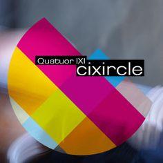 """QUATUOR IXI: """" cixrcle """" ( abalone / l'autre distribution ) personnel:  Régis Huby, violon - Guillaume Roy, alto - Théo Ceccaldi, violon et Atsushi Sakaï, violoncelle  http://www.qobuz.com/fr-fr/album/cixircle-quatuor-ixi/3760199740077"""